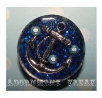 25mm Anchor plugs by Adornment-Freak