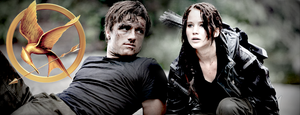 Katniss and Peeta by Xavvu