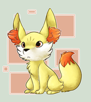 Gen VI- Fennekin by Star-Swirls