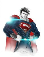 Man of Steel by GavinMichelli