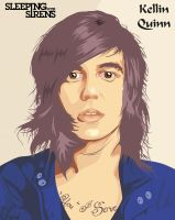Kellin Quinn from Sleeping With Sirens by dicky10official