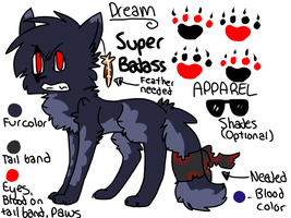 :Gift: Dream Super Badass Ref by tobiokageyama