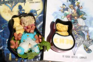 Bento Kingdom Hearts 3D by RiYuPai