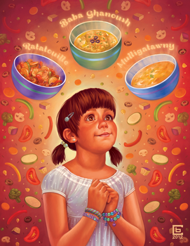 Food Poem by cry-ky