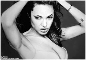 ANGELINA JOLIE by Wilverein