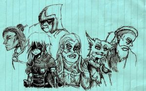 Croquis - TESO RP by Coqualier