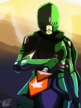 Mountain Dew Knight by AwesomeFeelsMan