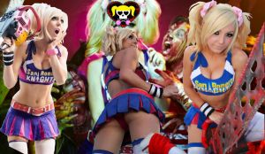 Jessica Nigri - Lollipop Chainsaw Collage 3 by shinkei5