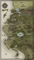 Kingdom of Amaldan Map by NightmareGK13