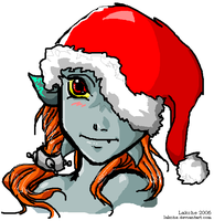 Christmas Midna by Lakche