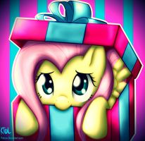 Commission: Flutters in a Box by pshyzo