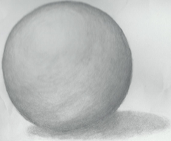 Sphere- Drawing Assignment by WickedOreo