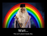 Dumbledore is NOT gay by iheartslashers