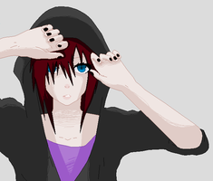 .:Sitting all alone inside your head:. by KageShadowKunoichi