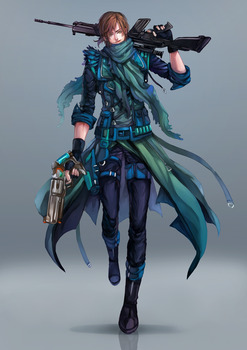 Commission: Adam (redesigned outfit) by Himenyuu