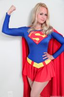Supergirl classic suit by AlisaKiss