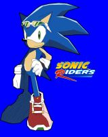 Sonic Riders - Sonic by ss2sonic