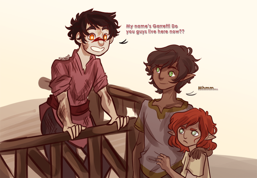 Fenhawke Kid AU by princecj