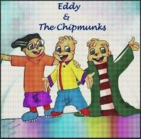 Eddy and the Chipmunks by Scs90s