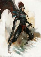 Dark Eldar: Scourge by Beckjann