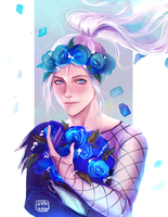 Flower Crown Victor by hypherrr