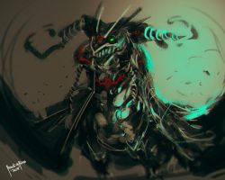 Dark Wingbat by benedickbana