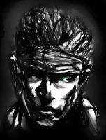 Young Solid Snake by bozoloko
