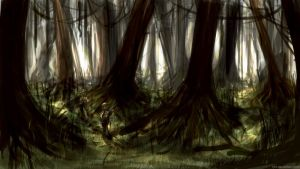 Lost World - Forest Concept by LJHT