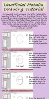Drawing Tutorial: Hetalia by khakipants12