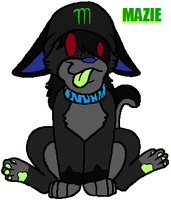 Weird Mazie chibi thing.. by AJ-Shep