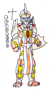 Cruxader, Toa of the Constellation Crux by Color17