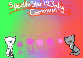 Speckestar123 banner Wip by AnamayCat