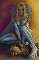 White Queen Colors by eva1
