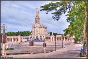 Fatima - Main Church and Shrine II by Arte-de-Junqueiro
