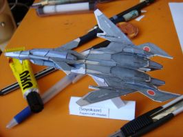Soyokaze papercraft by Loone-Wolf