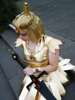Cosplay: Sailor Galaxia II by DarkNeptune