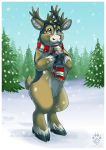 Corgibou Christmas by Idess
