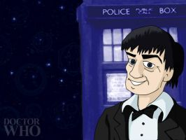 DrWho Caricature Wallpaper - 2 by CrimsonReach
