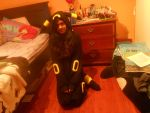 Umbreon kigu by Mikuhatsune1xx