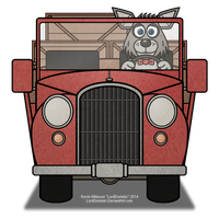 Possum County Pickup Truck WIP by LordDominic