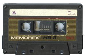 Memorex Cassette Tape by Cliffski