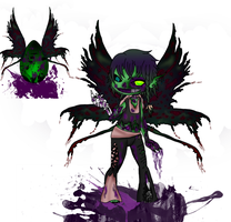 Hatched! Fairy Zombie Boy by ChaoticallyKhaos