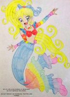 Rainbow Brite as a mermaid by Life-is-the-bubbles