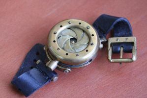 Steamwatch with iris cover by Gogglerman
