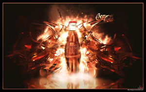 Coca-Cola Wallpaper by DeeJayCRO