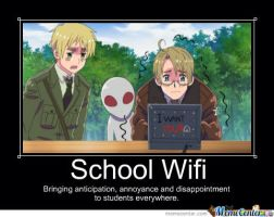 School Wifi meme by TheMonsterInsideofMe