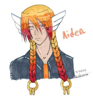 Younger Twin: Aiden by Yovela