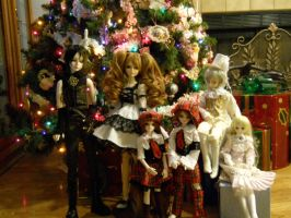 BJD Christmas by Ms-Catastrophie