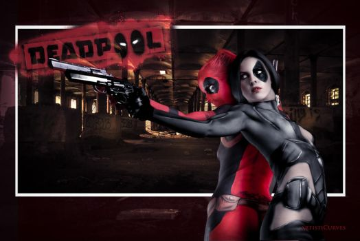 Deadpool and Domino by oldmacman