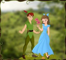 Peter and Wendy by RoseHarmony